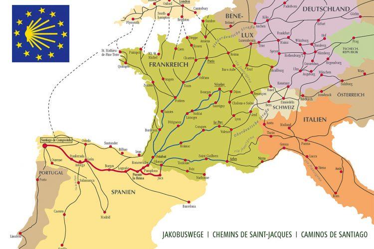 Itinerario cultural el camino de Santiago